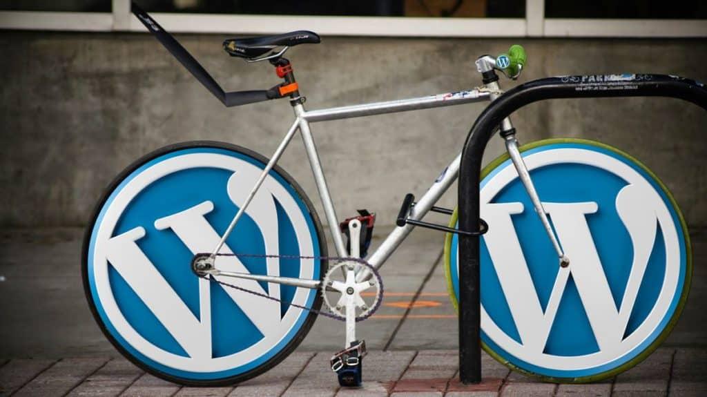wordpress workshop, fahrrad